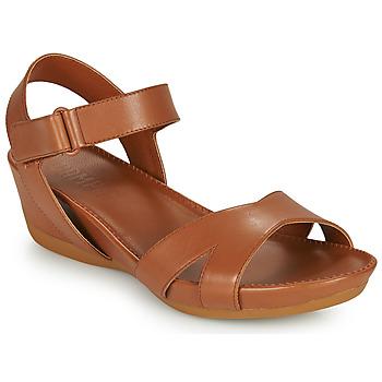 Boty Ženy Sandály Camper MICRO Hnědá
