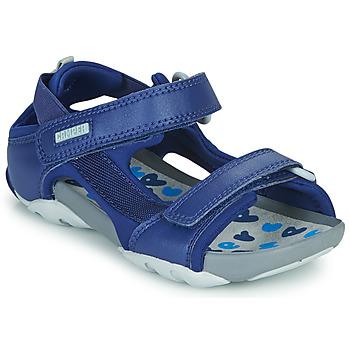 Boty Chlapecké Sandály Camper OUS Modrá