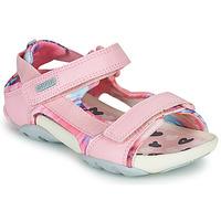 Boty Dívčí Sandály Camper OUS Růžová
