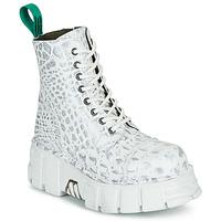 Boty Kotníkové boty New Rock M-MILI083C-V9 Bílá