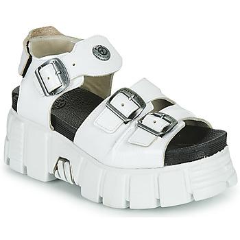 Boty Ženy Sandály New Rock M-BIOS101-C3 Bílá