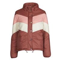 Textil Ženy Prošívané bundy Deeluxe CLAUDINE Červená / Růžová