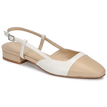 Boty Ženy Sandály Jonak DHAPOU Béžová / Bílá