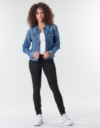 Textil Ženy Rifle skinny G-Star Raw Midge Zip Mid Skinny Wmn Černá