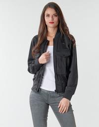 Textil Ženy Saka / Blejzry G-Star Raw Rovic aviator bomber wmn Tmavá / Černá / Tmavá / Černá