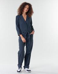 Textil Ženy Overaly / Kalhoty s laclem G-Star Raw Workwear pj jumpsuit 34 slv wmn Modrá