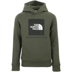 Textil Děti Mikiny The North Face New Box Hoodie Kids Zelená
