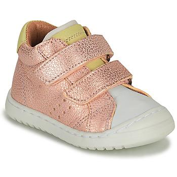 Boty Dívčí Nízké tenisky Bisgaard TATE Růžová / Zlatá