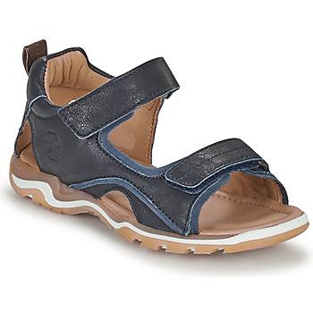 Boty Chlapecké Sportovní sandály Bisgaard CASPAR Tmavě modrá