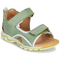 Boty Děti Sportovní sandály Bisgaard ARTHUR Zelená