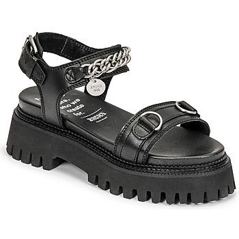 Boty Ženy Sandály Bronx GROOVY SANDAL Černá