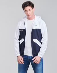 Textil Muži Bundy Lacoste SHANNA Tmavě modrá / Bílá