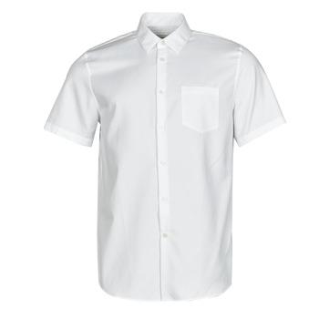 Textil Muži Košile s krátkými rukávy Lacoste FOLLA Bílá