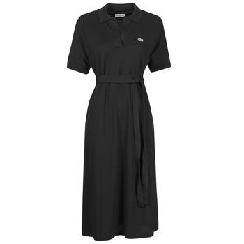 Textil Ženy Společenské šaty Lacoste KONNI Černá