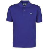 Textil Muži Polo s krátkými rukávy Lacoste POLO CLASSIQUE L.12.12 Modrá
