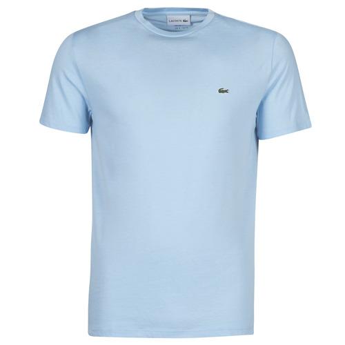 Textil Muži Trička s krátkým rukávem Lacoste ALFED Modrá