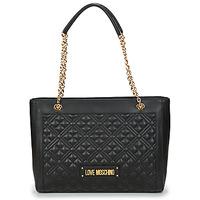 Taška Ženy Velké kabelky / Nákupní tašky Love Moschino JC4006PP1C Černá