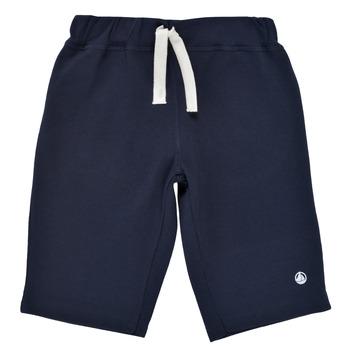 Textil Chlapecké Kraťasy / Bermudy Petit Bateau LAVIEN Tmavě modrá