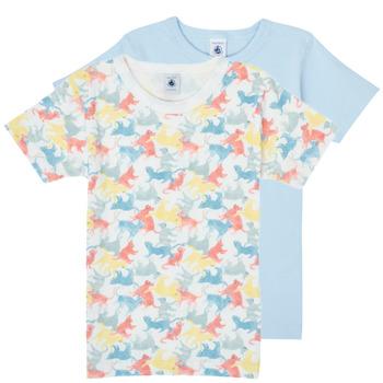 Textil Chlapecké Trička s krátkým rukávem Petit Bateau MANUR