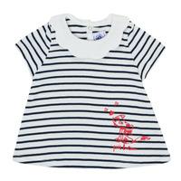 Textil Dívčí Trička s krátkým rukávem Petit Bateau MELIANE Růžová