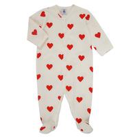 Textil Dívčí Pyžamo / Noční košile Petit Bateau MESCOEURS Bílá