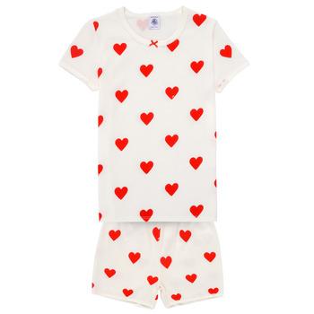 Textil Dívčí Pyžamo / Noční košile Petit Bateau MICOURT