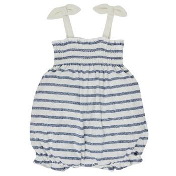 Textil Dívčí Overaly / Kalhoty s laclem Petit Bateau MILLY