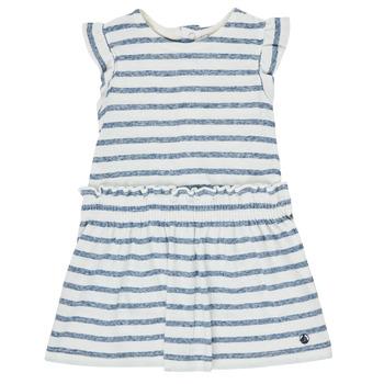 Textil Dívčí Krátké šaty Petit Bateau MILANAIS