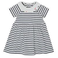 Textil Dívčí Krátké šaty Petit Bateau MEGHANE