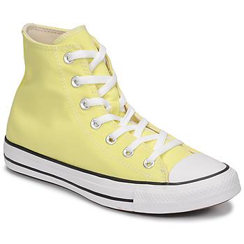 Boty Ženy Kotníkové tenisky Converse CHUCK TAYLOR ALL STAR SEASONAL COLOR HI Žlutá