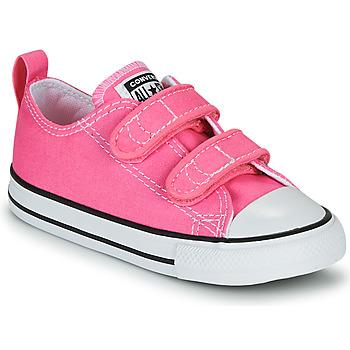 Boty Dívčí Nízké tenisky Converse CHUCK TAYLOR ALL STAR 2V  OX Růžová