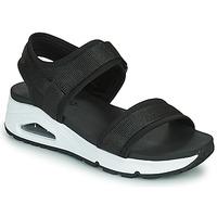 Boty Ženy Sandály Skechers UNO Černá