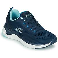 Boty Ženy Fitness / Training Skechers SOLAR FUSE COSMIC VIEW Tmavě modrá