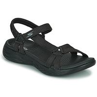 Boty Ženy Sportovní sandály Skechers ON THE GO 600 Černá