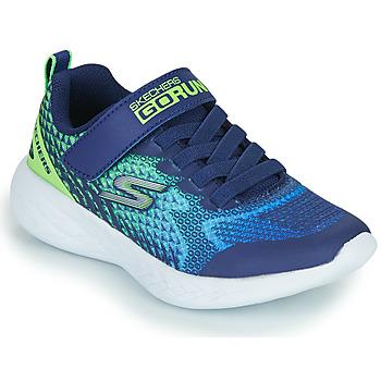 Boty Chlapecké Nízké tenisky Skechers GO RUN 600 Modrá / Zelená