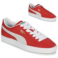 Boty Nízké tenisky Puma SUEDE Červená