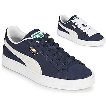Boty Nízké tenisky Puma SUEDE Modrá