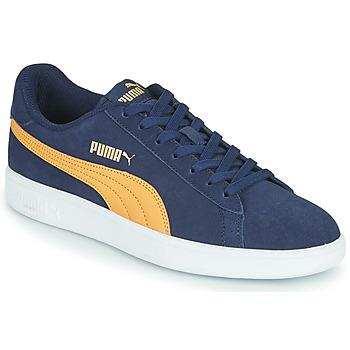 Boty Muži Nízké tenisky Puma SMASH Modrá / Béžová