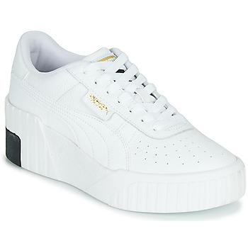 Boty Ženy Nízké tenisky Puma CALI WEDGE Bílá / Černá