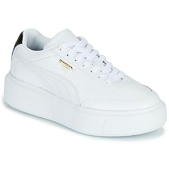 Boty Ženy Nízké tenisky Puma CALI OSLO Bílá / Černá