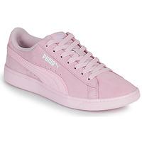 Boty Ženy Nízké tenisky Puma VIKKY Růžová
