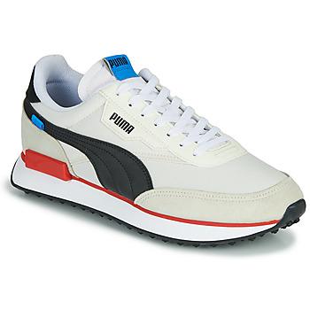 Boty Muži Nízké tenisky Puma FUTURE RIDER PLAY ON Bílá / Černá / Červená