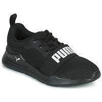 Boty Chlapecké Nízké tenisky Puma WIRED PS Černá