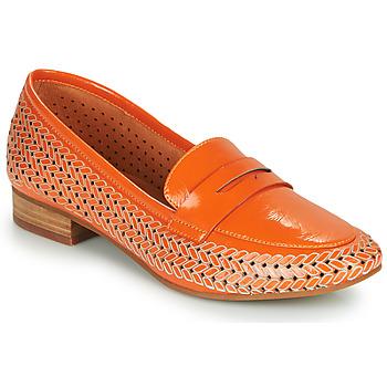 Boty Ženy Mokasíny Mam'Zelle ZIP Oranžová