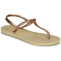 Boty Ženy Sandály Havaianas TWIST Béžová