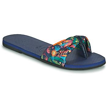 Boty Ženy Žabky Havaianas YOU SAINT TROPEZ Modrá
