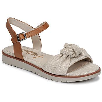 Boty Ženy Sandály MTNG 50506 Béžová