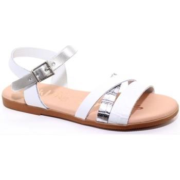 Boty Dívčí Sandály Oh My Sandals 24562-24 Bílá