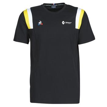 Textil Muži Trička s krátkým rukávem Le Coq Sportif RENAULT FANWEAR 20 Tee SS M Černá