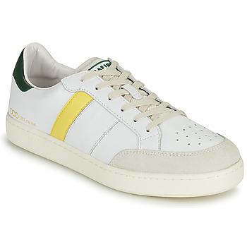 Boty Muži Nízké tenisky Serafini WIMBLEDON Bílá / Zelená / Žlutá